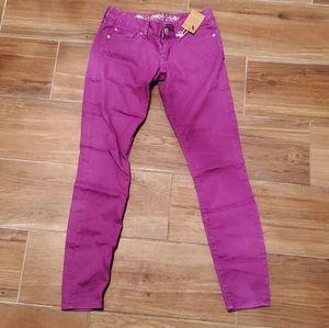 NEW! Express Purple Skinny Jean's size 4